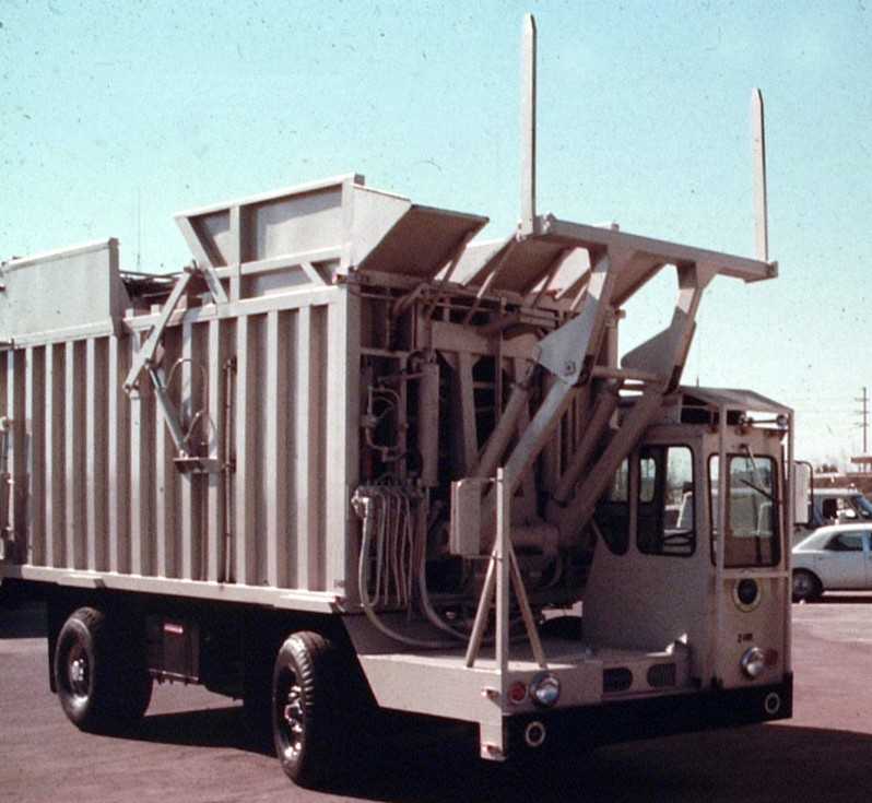 Classic Refuse Trucks Front Loaders