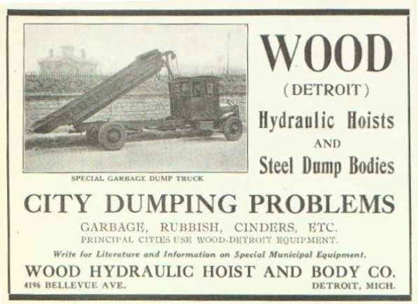 Classic Refuse Trucks GAR WOOD